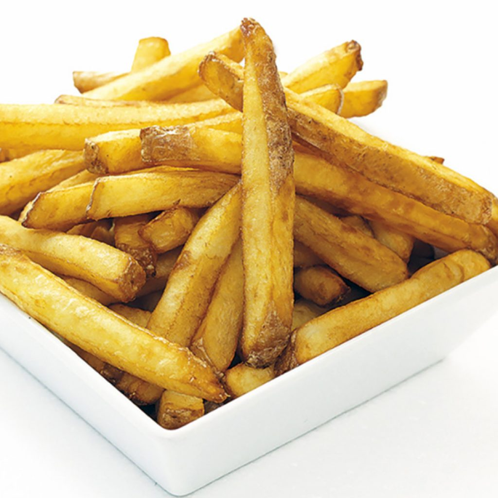 Mestari French fries with skin 4x2,5kg