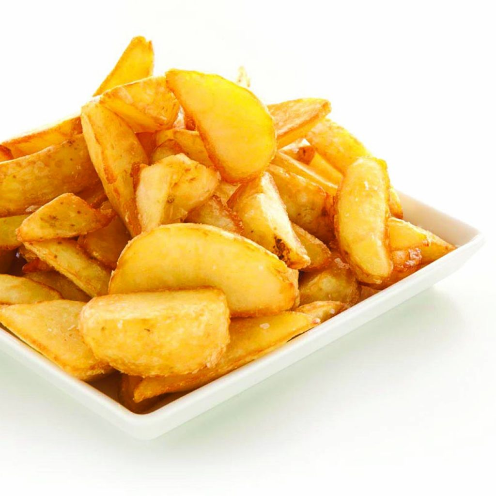 Mestari potato wedges with skin 4x3kg