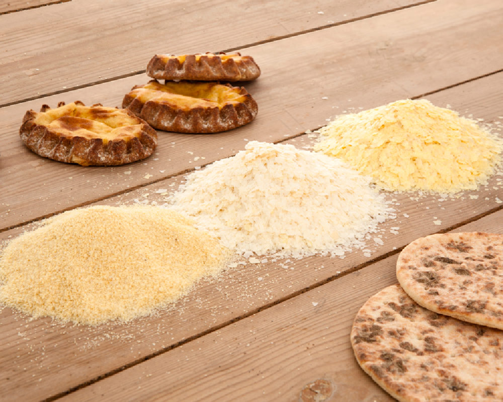 potato flakes and granules